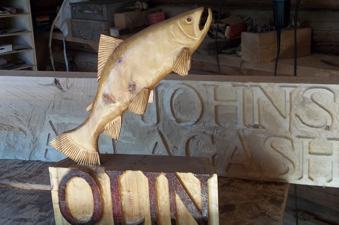 Unique wooden fishing camp signs for sale for Fishing camps for sale in louisiana