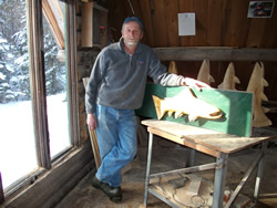 Bob Johnson Chainsaw Carver