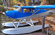 Our new seaplane just after her maiden flight