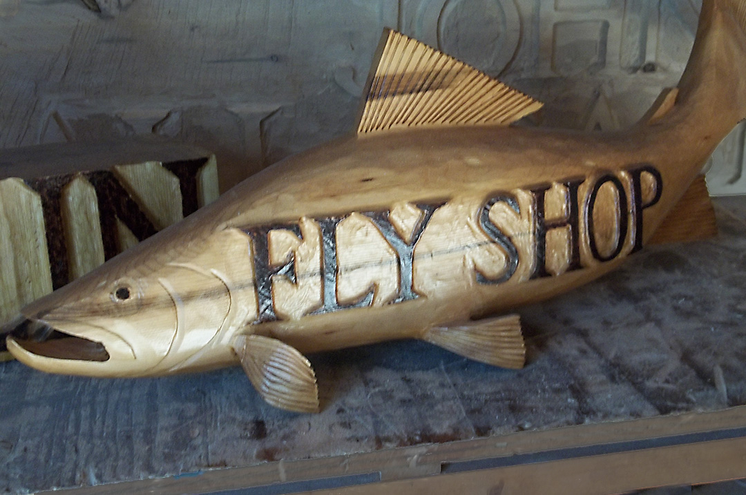 Unique Wooden Fishing Camp Signs For Sale